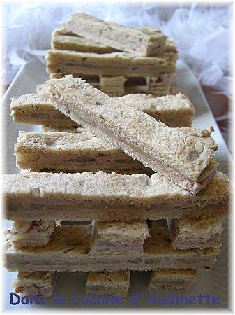 sandwichs foie gras artichauts