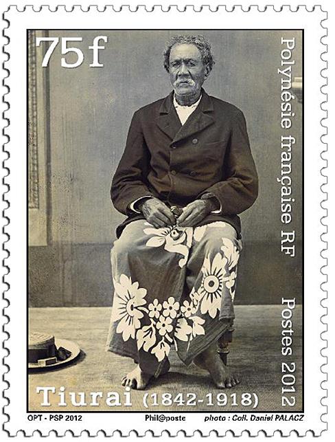 timbre tiurai polynesie francaise