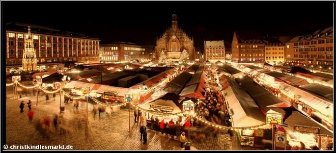 Marche de noel Nuremberg Nurnberger christkindlmarkt