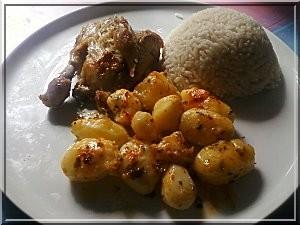 Poulet l 39 origan une recette orientale simple et pas ch re - Cuisine orientale facile ...