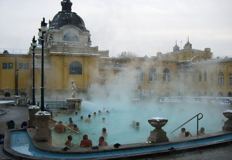 budapest bains thermaux Szechenyi
