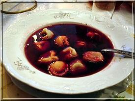 Barszcz soupe de betteraves borscht polonais