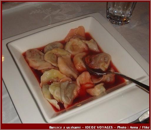 Barszcz z uszkami soupe cuisine polonaise