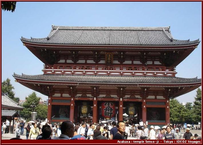 Tokyo Asakusa temple Senso-ji