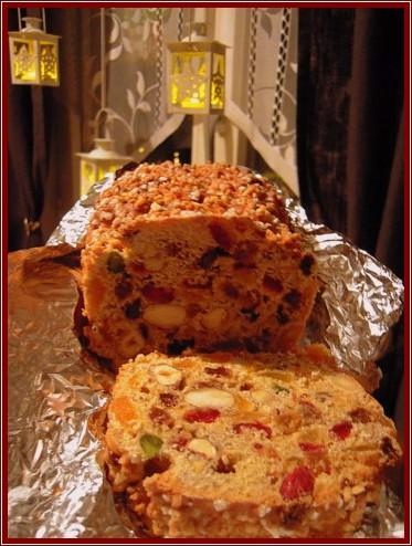 Xmas cake gateau de noel anglais