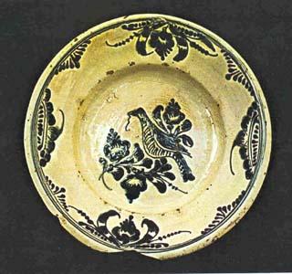 assiette bistrita ceramique transylvanie
