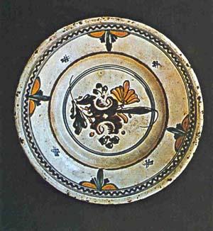 assiette ceramique transylvanie