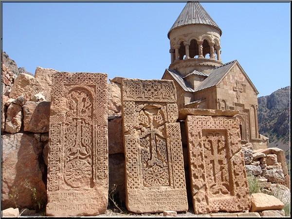 monastere Doravank Arménie khachkars