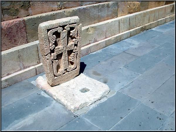 monastere noravank Armenie tombe de larchitecte