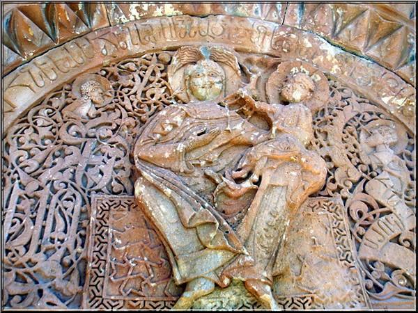 monastere noravank Armenie vierge a enfant