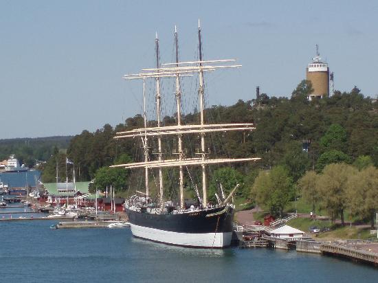 musée-navire Pommern à Mariehamn