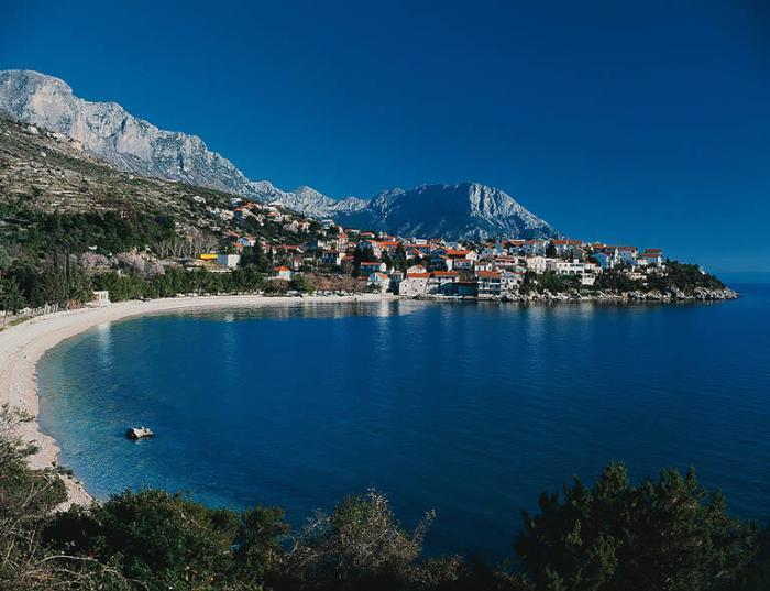 podaca dalmatie croatie