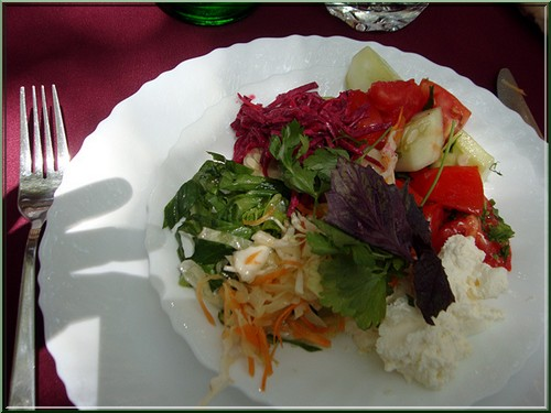salade aux herbes cuisine armenienne