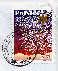 timbre polonais poste pologne