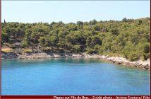 Brac plage croatie crique