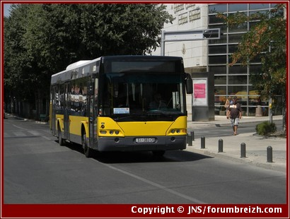 Bus croatie transport