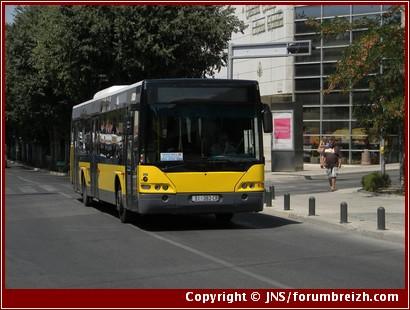 Bus croatie transport