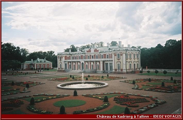Visiter tallinn Chateau Kadriorg