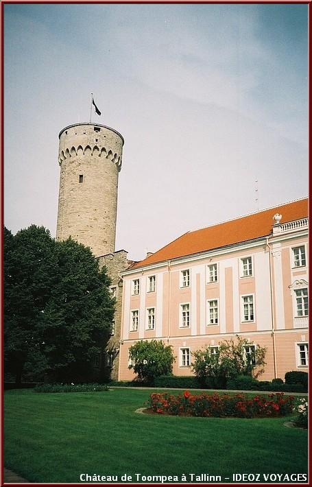 Chateau Toompea Visiter tallinn