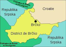 District Brcko carte