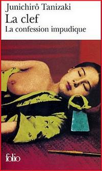 Junichiro Tanizaki La confession impudique litterature japonaise