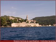 Lopud monastere croatie