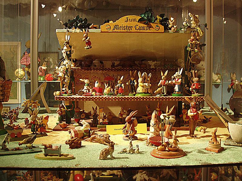 Osterhase: le lapin de Pâques au Centre pour les musées extraordinaires ZAM de Munich