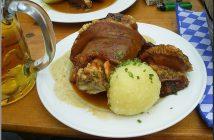 Schweinhaxe jarret porc fete de la biere oktoberfest