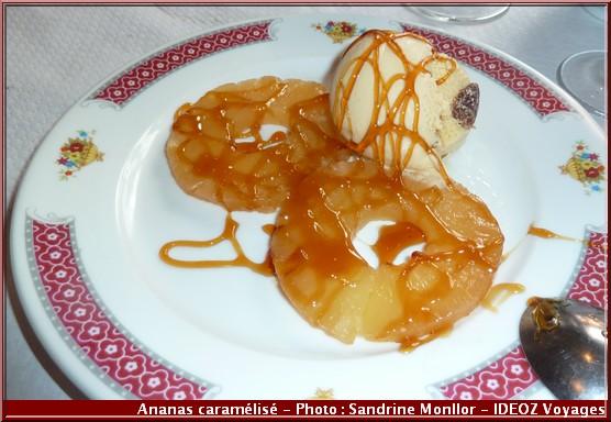 aux delices d'asie ananas caramelisé