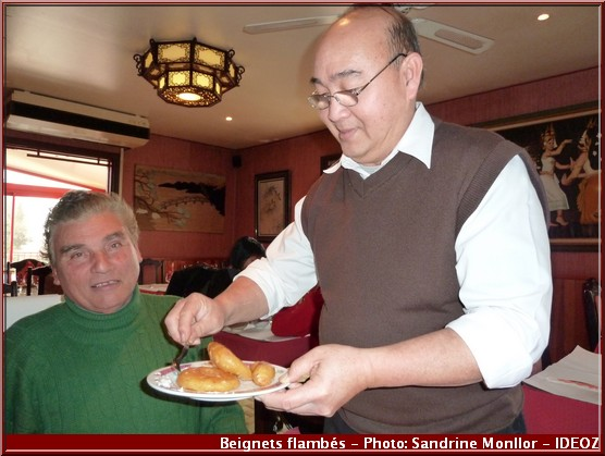 aux delices d'asie restaurant auzeville tolosane beignets flambés