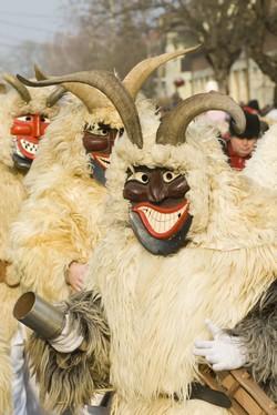 buso mohacs carnaval hongrie