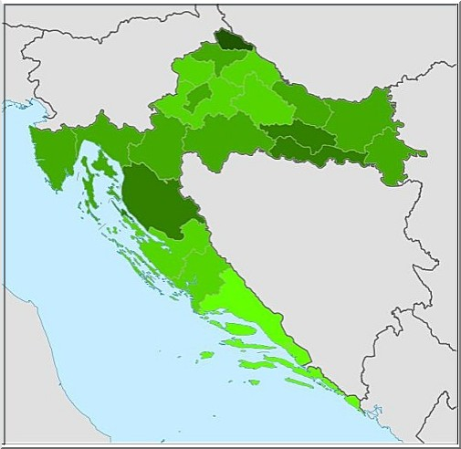 carte croatie vote ratification traite
