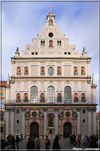 eglise saint michel munich Michaelskirche Muenchen