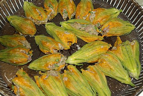 fleurs de courgettes farcies recette italienne