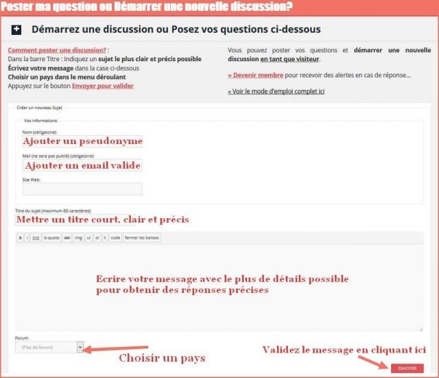 forum ideoz poster une question