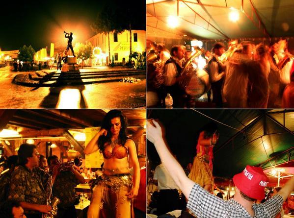 guca festival des fanfares en serbie danses