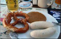 oktoberfest Weisswurst Brezel