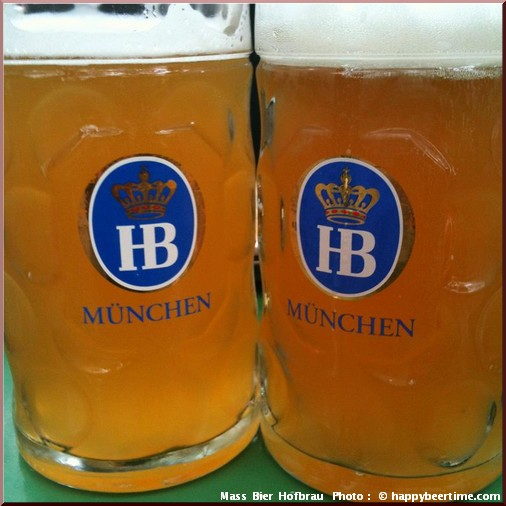 oktoberfest munich Hofbrau massbier