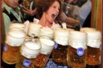 oktoberfest munich massbier serveuse bieres