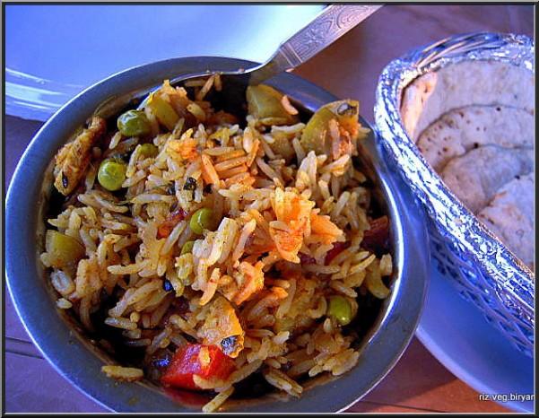 riz biryani recette cuisine indienne
