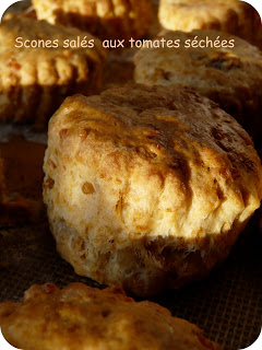 scones tomate cheddar recette cuisine anglaise
