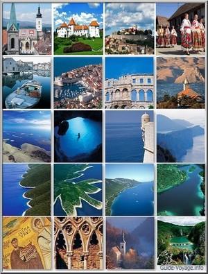 vacances croatie carte