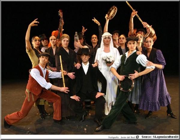 Flamenco compagnie antonio noce de sang