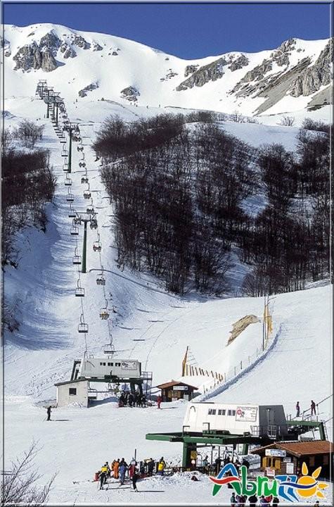 abruzzes piste de neige abruzzo