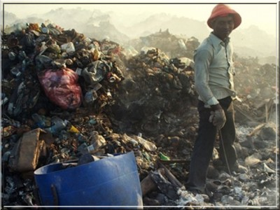 maldives ordures environnement