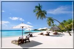 iles maldives plage sable fin