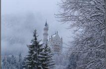 neuschwanstein chateau de louis ii sous la neige