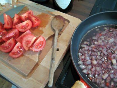 penne allarrabbiata preparation recette cuisine italienne
