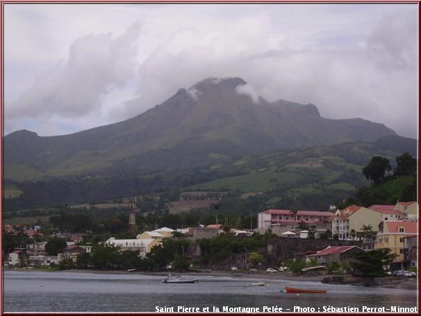 Saint Pierre montagne pelee martinique