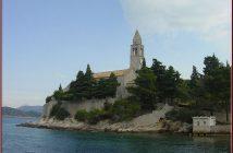 monastere Lopud elaphites croatie